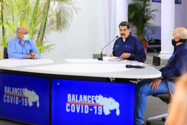 Maduro denuncia censura en redes sociales contra el Carvativir y anuncia regreso a clases presenciales