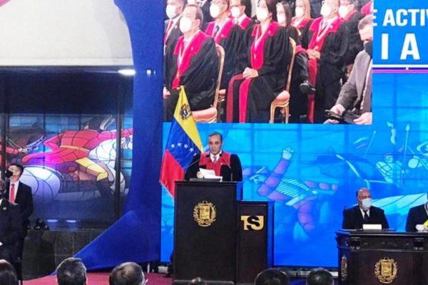 Maikel Moreno repudia lo ocurrido con Citgo': 'La intención es seguir robando los activos del país'