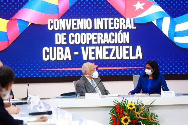 Venezuela y Cuba acuerdan creación de un 'observatorio' para enfrentar sanciones de EE.UU
