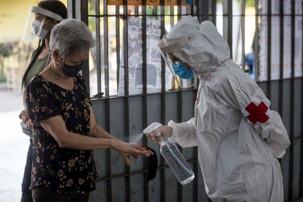 En 24 horas, Venezuela registró 480 nuevos contagios y siete fallecidos por Covid-19