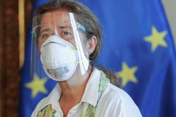 La embajadora de la Unión Europea deja Venezuela tras la orden de expulsión