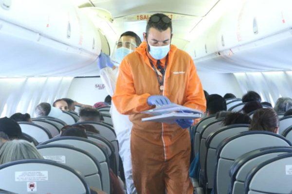 Retornaron al país 86 venezolanos desde Ecuador en vuelo de repatriación