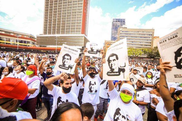 Chavismo organiza concierto para pedir liberación de Álex Saab