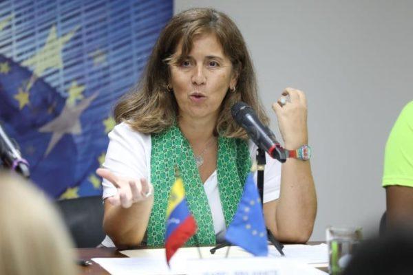 La embajadora de la UE en Venezuela dejará el país el próximo martes #02Mar