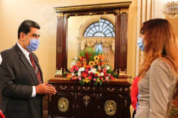 Maduro se reunió con la relatora especial de la ONU: 'Estamos buscando un acuerdo práctico y efectivo'