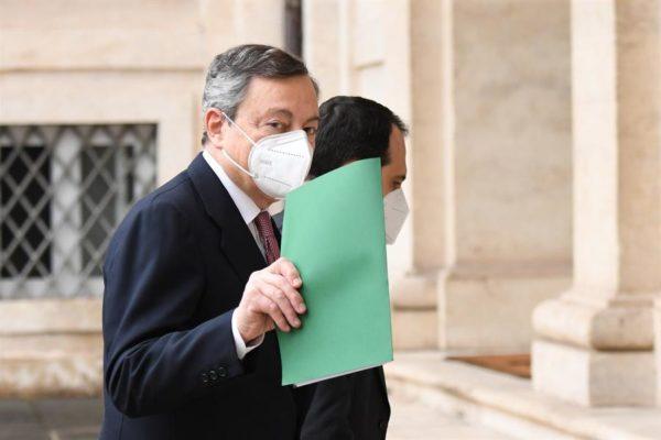 Mario Draghi, un economista que juró como nuevo primer ministro de Italia