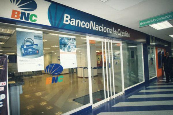 Banco Nacional de Crédito absorbió 97% del monto transado en una jornada bajista en la BVC