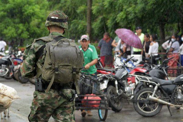 Fanb inició labores para desminar territorio de Apure donde se realizaron enfrentamientos