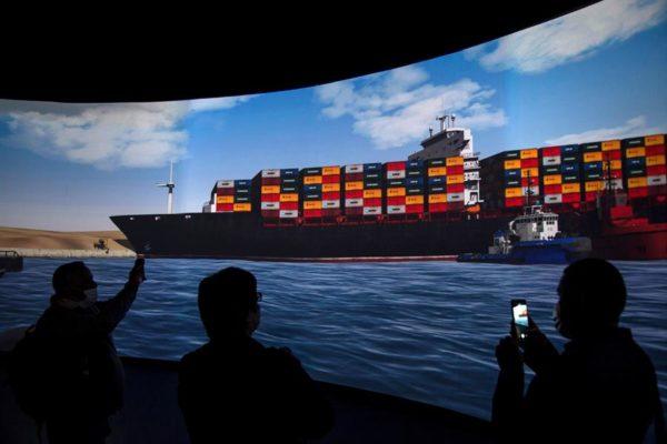 Egipto puso fin a la crisis del carguero bloqueado en el Canal de Suez
