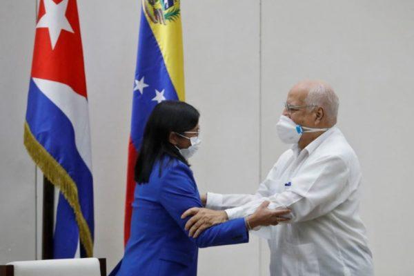 Delcy Rodríguez: EEUU va