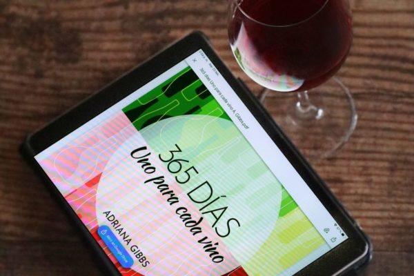Adriana Gibbs lanza e-book ´365 días. Uno para cada vino´