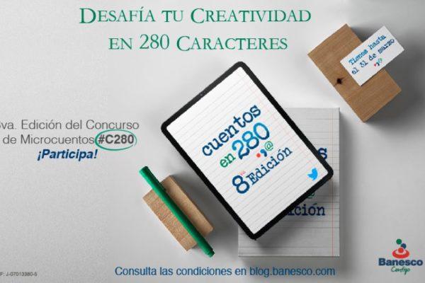 Hasta el #31Mar se puede participar en concurso de microcuentos de Banesco: lea los detalles