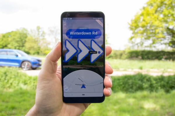Google Maps actualiza su realidad aumentada para que guíe en aeropuertos