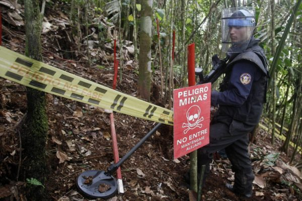 Venezuela pedirá ayuda de la ONU para desactivar minas antipersonales en Apure