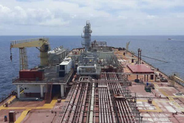 Terminó descarga de crudo almacenado desde 2019 en carguero varado Nabarima