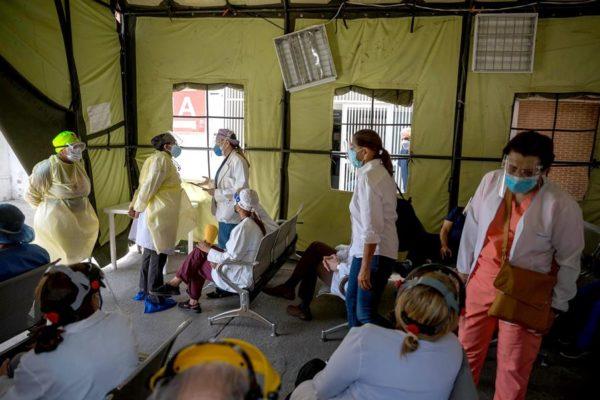 Venezuela registró 20 fallecidos por Covid-19: En 24 horas hubo 1.325 casos
