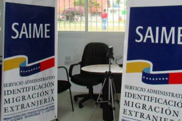 Saime: pasaportes de extranjeros en el país pueden utilizarse aun vencidos