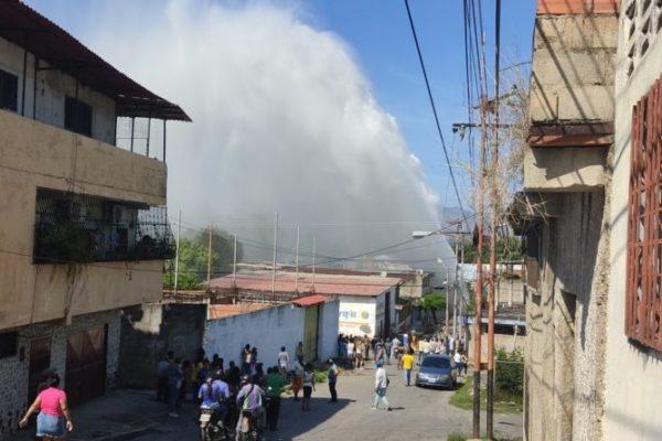 Rotura de tubería en Santa Teresa del Tuy no afectará servicio de agua en Caracas: Hidrocapital