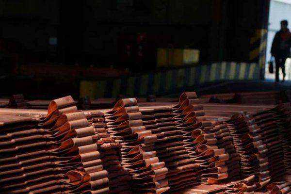 Tonelada de cobre llega a US$10.311 superando récord de 2011