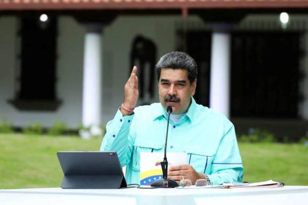 Maduro adelanta a octubre meta de vacunación de 70% de la población y exige a Biden desbloquear recursos para Covax