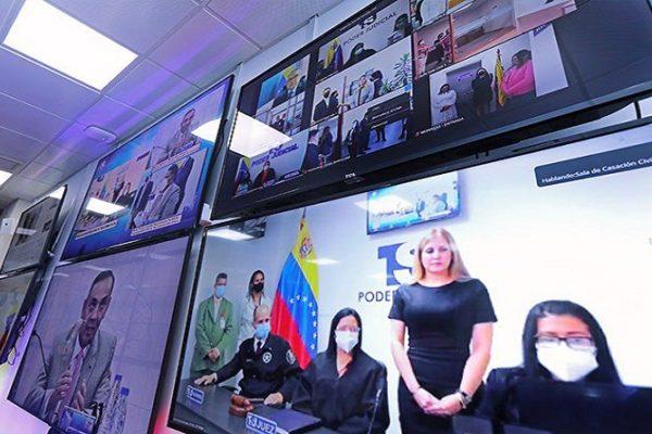 TSJ inauguró Salas Telemáticas de Audiencias en todas las Circunscripciones Judiciales del país