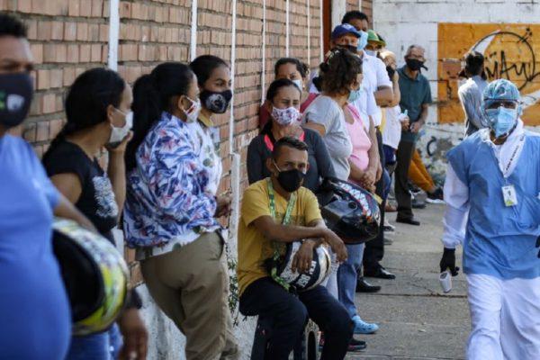 Cifras oficiales | Venezuela registra 1.679 casos nuevos y 16 fallecidos por COVID-19