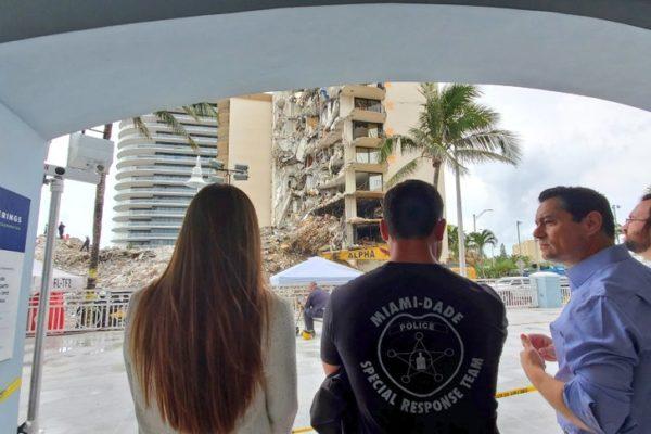 Vecchio desde Miami: Se está haciendo un esfuerzo sobrehumano para rescatar a las víctimas