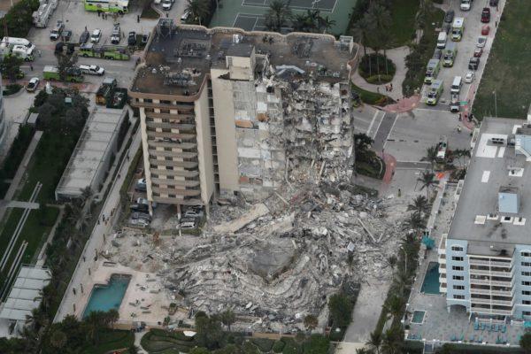 Balance de fallecidos en derrumbe en Florida asciende a 16 en séptimo día de búsqueda