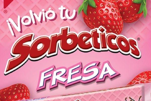 Mondelēz trae de vuelta al mercado venezolano Sorbeticos FRESA