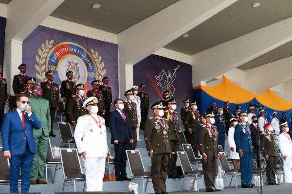 Maduro ascendió a máximos grados militares a los primeros de cada una de sus promociones