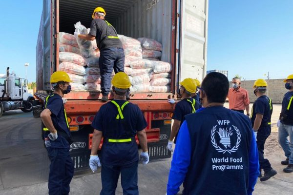 Llega a Venezuela el primer cargamento del Programa Mundial de Alimentos