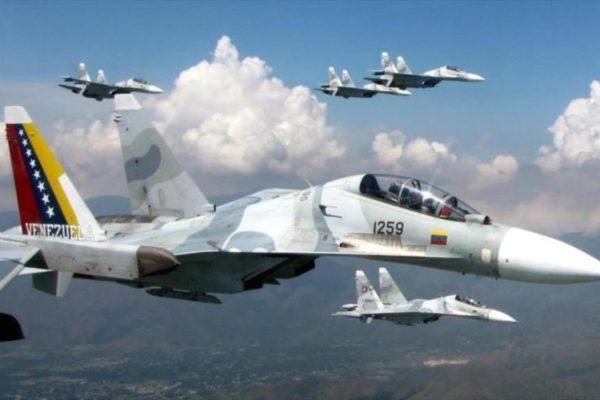 Aeronaves de la FANB sobrevolarán este jueves el cielo capitalino