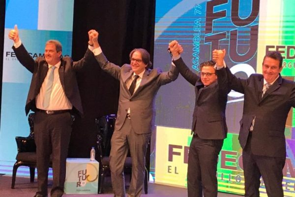 Carlos Fernández (Presidente de Fedecámaras): 'necesitaremos 40 años de crecimiento de 5% anual para recuperar el PIB perdido'