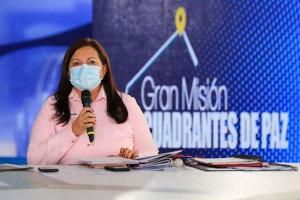 Ministra Meléndez: Avanza desmantelamiento de bandas criminales que operan en zonas de Caracas