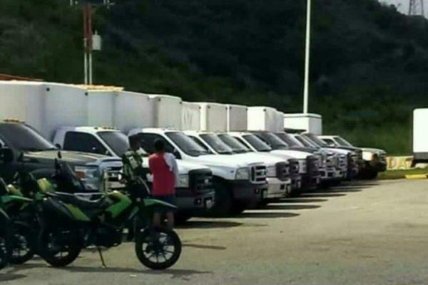 GNB retuvo 18 camiones que transportaban queso de Guanare a Caracas