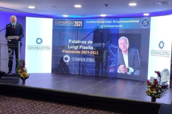 Luigi Pisella (Conindustria): las prioridades serán recuperar salarios y evitar más cierres de empresas