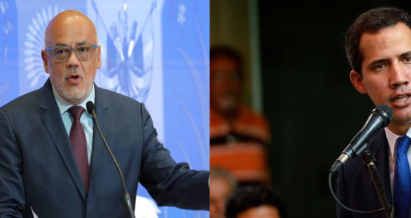Rodríguez: 'tenían plan para asesinar al presidente'   Guaidó: 'bloquean diálogo y levantamiento de sanciones'