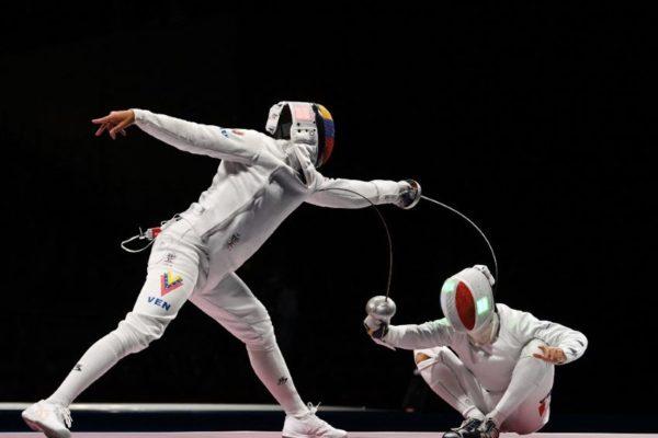 #Tokio2020 | Rubén Limardo fue eliminado en su primer combate en el esgrima olímpico