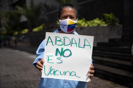 Enfermeros y docentes en Caracas exigieron no aplicar vacuna cubana a menores