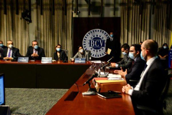 BCV se reunió con la Banca: Entidades deben comenzar a adecuar sus sistemas al bolívar digital