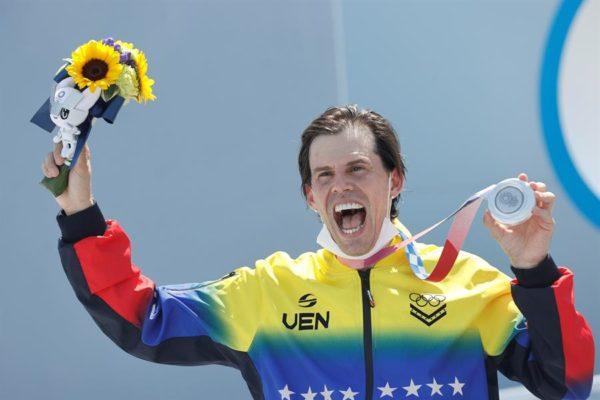 Daniel Dhers consiguió la medalla de plata para Venezuela en Tokio 2020: «Voy a seguir hasta 2024»