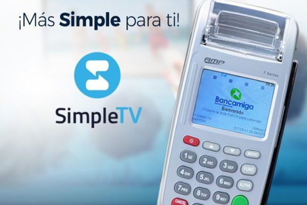 Bancamiga habilita recargas de Simple TV en sus puntos de venta