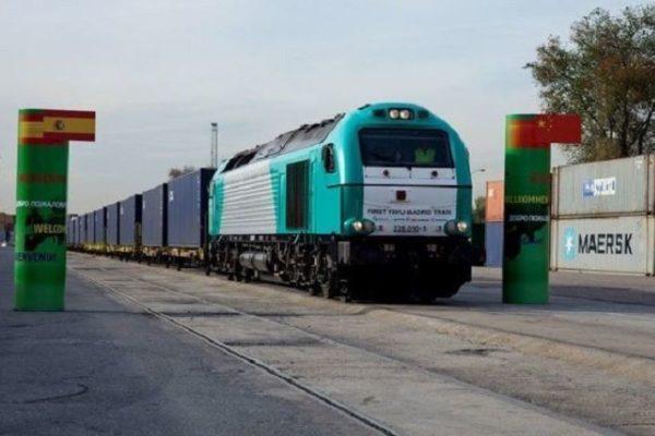 Poder chino: 'Tren de la Seda' duplicó transporte de mercancías a Europa en plena pandemia