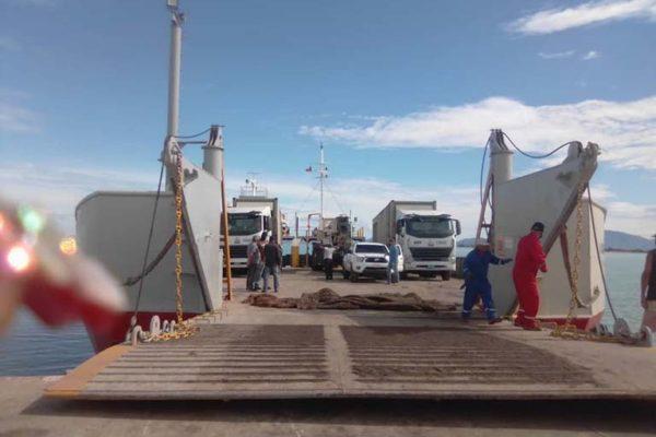 Trasladaron tres unidades de generación eléctrica a la isla de Coche para restablecer el servicio