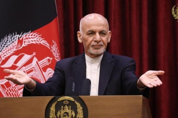 Presidente de Afganistán abandonó el país para