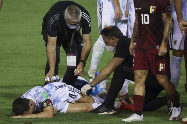 Yeferson Soteldo tuvo su noche: Argentina le ganó 3-1 a una aguerrida Venezuela