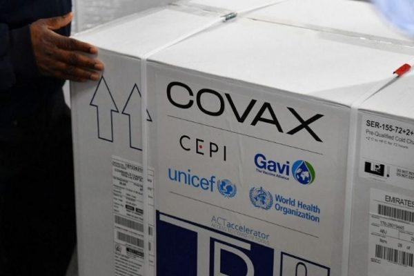 Primer cargamento de Covax llegó este #7Sep a Venezuela