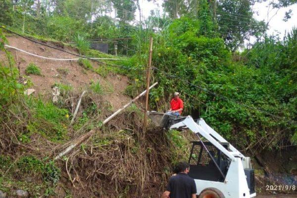 Lluvias: Alcaldía ha atendido más de 40 derrumbes en zonas de Los Salias en altos mirandinos