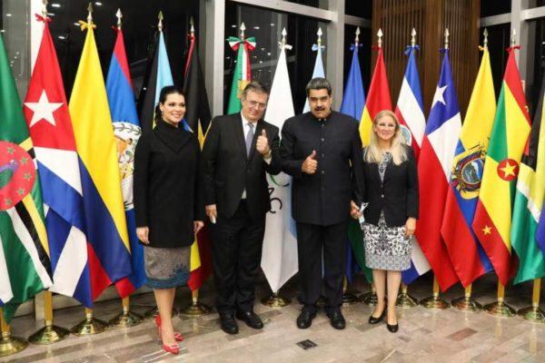 Nicolás Maduro arriba a México para participar en la reunión del CELAC