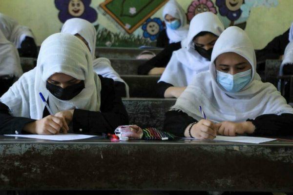 Los talibanes confirman que permitirán que las mujeres estudien, pero separadas de los hombres